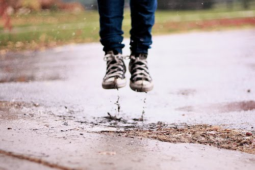 muddy carpet causes- puddle jumping