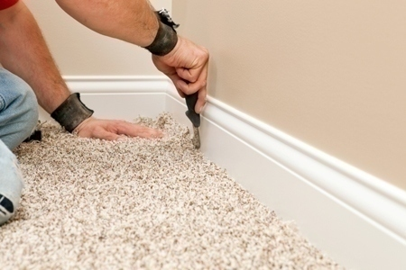 carpet selection and installation